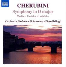 Luigi Cherubini (1760-1842): Symphonie D-Dur, CD