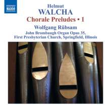 Helmut Walcha (geb. 1907): Choralvorspiele Vol.1, CD