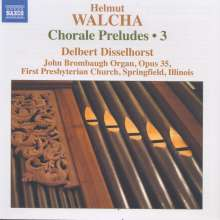 Helmut Walcha (geb. 1907): Choralvorspiele Vol.3, CD