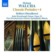Helmut Walcha (geb. 1907): Choralvorspiele Vol. 4, CD