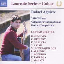 Rafael Aguirre - Guitar Recital, CD