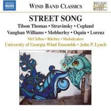 University of Georgia Wind Ensemble - Street Song, CD
