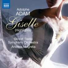 Adolphe Adam (1803-1856): Giselle (Ausz.), CD