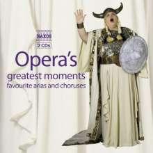 Opera's Greatest Moments (Naxos), 2 CDs