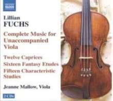 Lilian Fuchs (1902-1995): Kammermusik für Viola, 2 CDs