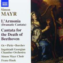 Johann Simon (Giovanni Simone) Mayr (1763-1845): L'Armonia (Dramatische Kantate), CD