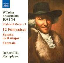 Wilhelm Friedemann Bach (1710-1784): Cembalowerke Vol.1, CD