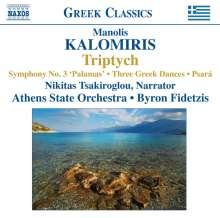 Manolis Kalomiris (1883-1962): Symphonie Nr.3 für Rezitator & Orchester, CD