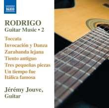 Joaquin Rodrigo (1901-1999): Gitarrenwerke Vol.2, CD