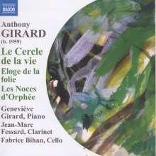 Anthony Girard (geb. 1959): Le Cercle de la vie - 24 Präludien für Klavier, CD