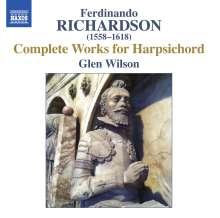 Ferdinando Richardson (1558-1618): Sämtliche Cembalowerke, CD