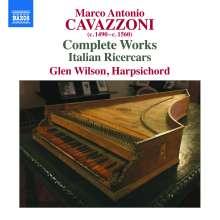 """Marco Antonio """"da Bologna"""" Cavazzoni (1485-1569): Cembalowerke, CD"""