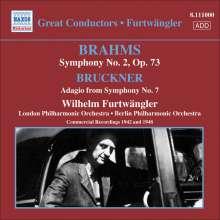 Johannes Brahms (1833-1897): Symphonie Nr.2, CD