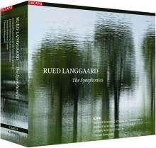 Rued Langgaard (1893-1952): Symphonien Nr.1-16, 7 SACDs