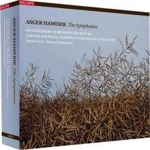 Asger Hamerik (1843-1923): Symphonien Nr.1-7, 4 Super Audio CDs