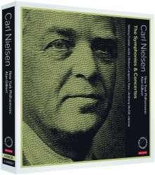 Carl Nielsen (1865-1931): Symphonien & Konzerte, 4 SACDs
