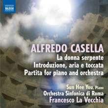 "Alfredo Casella (1883-1947): Orchesterfragmente aus ""La Donna serpente"" op.50, CD"