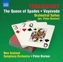 Peter Iljitsch Tschaikowsky (1840-1893): Orchestersuiten (arrangiert von Peter Breiner), CD