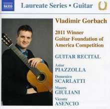 Vladimir Gorbach - Guitar Recital, CD