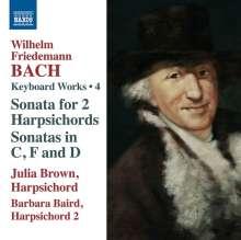 Wilhelm Friedemann Bach (1710-1784): Cembalowerke Vol.4, CD