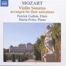 Wolfgang Amadeus Mozart (1756-1791): Flötensonaten KV 376-378,KV 570, CD