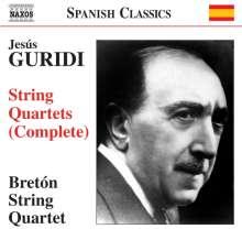 Jesus Guridi (1886-1961): Streichquartette Nr.1 & 3, CD