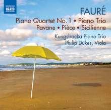Gabriel Faure (1845-1924): Klavierquartett Nr.1 op.15, CD