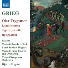 Edvard Grieg (1843-1907): Olav Trygvason (Opernfragmente), CD