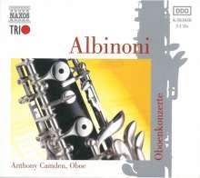 Tomaso Albinoni (1671-1751): Oboenkonzerte op.7 Nr.1-6,8,9,11,12, 3 CDs