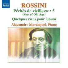 Gioacchino Rossini (1792-1868): Sämtliche Klavierwerke Vol.5, CD