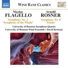 "Nicolas Flagello (1928-1994): Symphonie Nr.2 ""Symphony of the Winds"", CD"