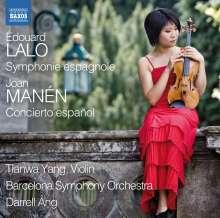 """Joan Manen (1883-1971): Violinkonzert Nr.1 """"Concierto espanol"""", CD"""