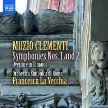 Muzio Clementi (1752-1832): Symphonien Nr.1 & 2, CD