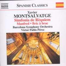 Xavier Montsalvatge (1912-2002): Sinfonia de Requiem, CD