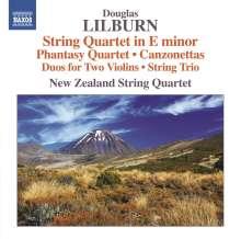Douglas Lilburn (1915-2001): Streichquartett e-moll (1946), CD