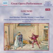 "Charles Gounod (1818-1893): Faust (""Margarethe""), 3 CDs"