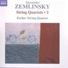 Alexander von Zemlinsky (1871-1942): Streichquartette Vol.2, CD