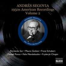 Andres Segovia - 1950s American Recordings Vol.2, CD