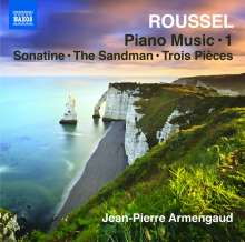Albert Roussel (1869-1937): Klavierwerke Vol.1, CD