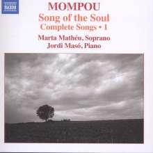 Federico Mompou (1893-1987): Sämtliche Lieder Vol.1, CD