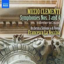 Muzio Clementi (1752-1832): Symphonien Nr.2 & 4, CD