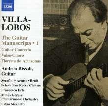 """Heitor Villa-Lobos (1887-1959): Gitarrenwerke """"The Guitar Manuscripts Vol.1"""", CD"""