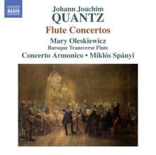 Johann Joachim Quantz (1697-1773): Flötenkonzerte in c-moll,d-moll,G-Dur,a-moll, CD