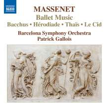 Jules Massenet (1842-1912): Ballettmusik, CD