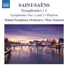 Camille Saint-Saens (1835-1921): Symphonien Vol.1, CD