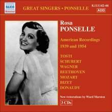 Rosa Ponselle - American Redordings 1939 & 1954, 3 CDs