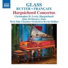Philip Glass (geb. 1937): Konzert für Cembalo & Kammerorchester, CD