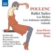 Francis Poulenc (1899-1963): Ballettsuiten (arr. für Klavier), CD