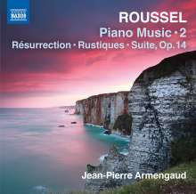 Albert Roussel (1869-1937): Klavierwerke Vol.2, CD