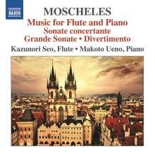 Ignaz Moscheles (1794-1870): Werke für Flöte & Klavier, CD
